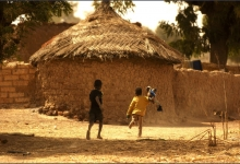 From a moving vehicle, en route to the Village of Ya, Burkina Faso