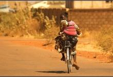 The back streets of Ouagadougou, Burkina Faso