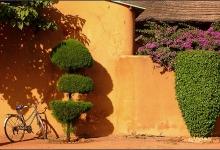 Our guest house in Ouagadougou, Burkina Faso