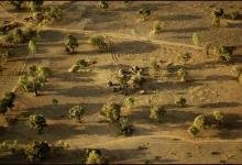 French West Africa-Burkina Faso from 1500 feet: Burkina No. 25