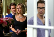 Eric McCormack is Clark Rockefeller, with Sherry Stringfield/Lifetime