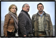 Julie Benz, Graham Greene and Grant Bowler Defiance for SyFy