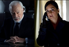 Christopher Plummer and Archie Panjabi star in Departure for Shaftesbury and Universal TV-UK