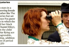 From the Sunday Times: The Frankie Drake Mysteries for Shaftesbury/CBC Television/Alibi-UKTV