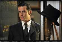 Yannick Bisson is DCI William Murdoch: Murdoch Mysteries for Shaftesbury Films