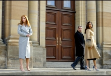 Sarah Rafferty, Rick Hoffman and Gina Torres: Suits for USA Network