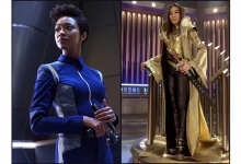 Michelle Yeoh and Sonequa Martin-Green:  Star Trek Discovery /CBS