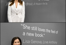 Amanda Lindhout  and Lisa Genova for Simon & Schuster