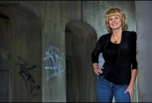 Bones' creator Kathy Reichs in Griffintown, Montreal